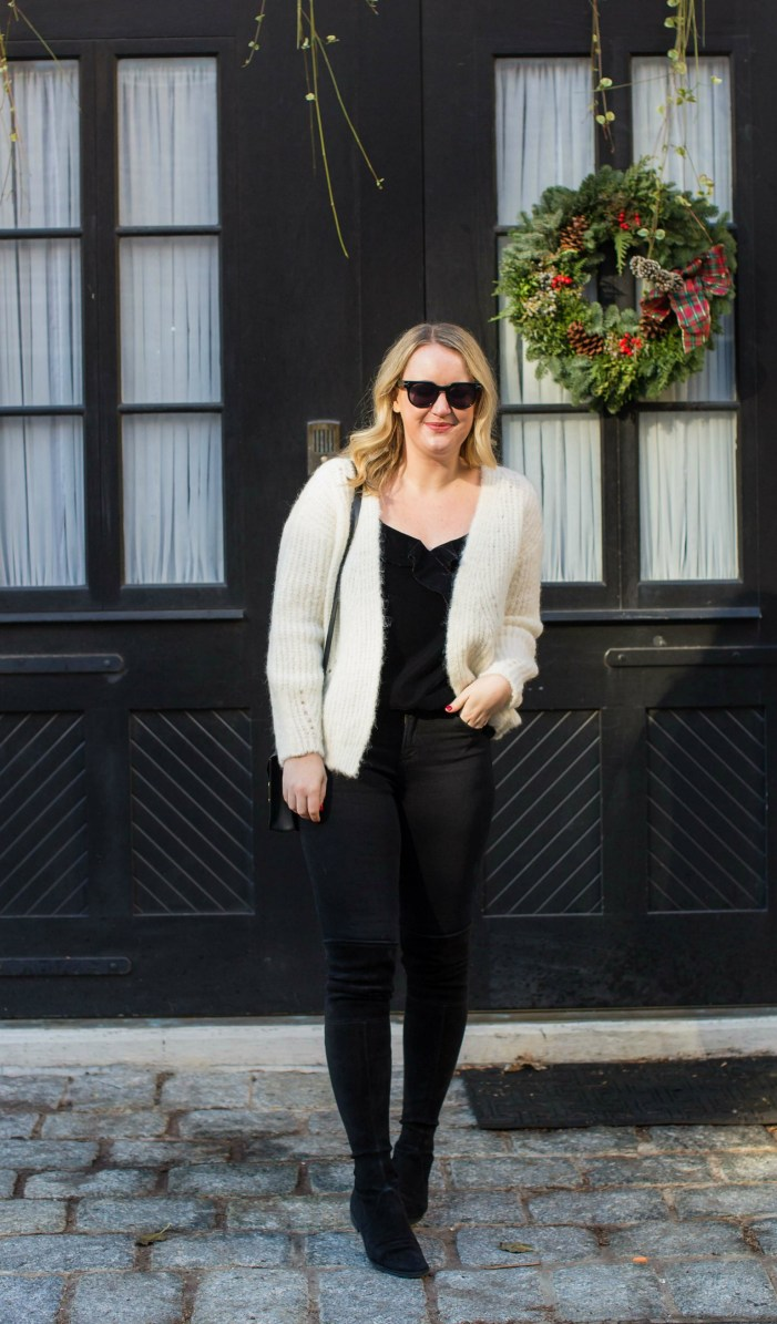 Sezane Sweater I on Meghan Donovan of wit & whimsy