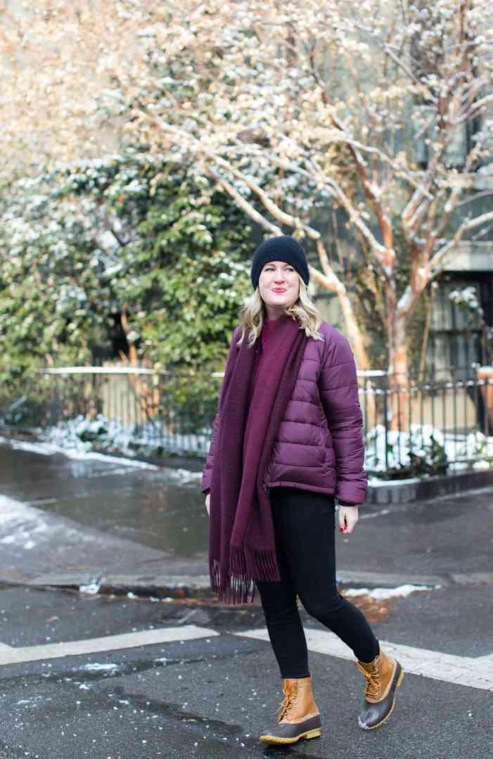 Meghan Donovan styles Everlane's puffer jacket