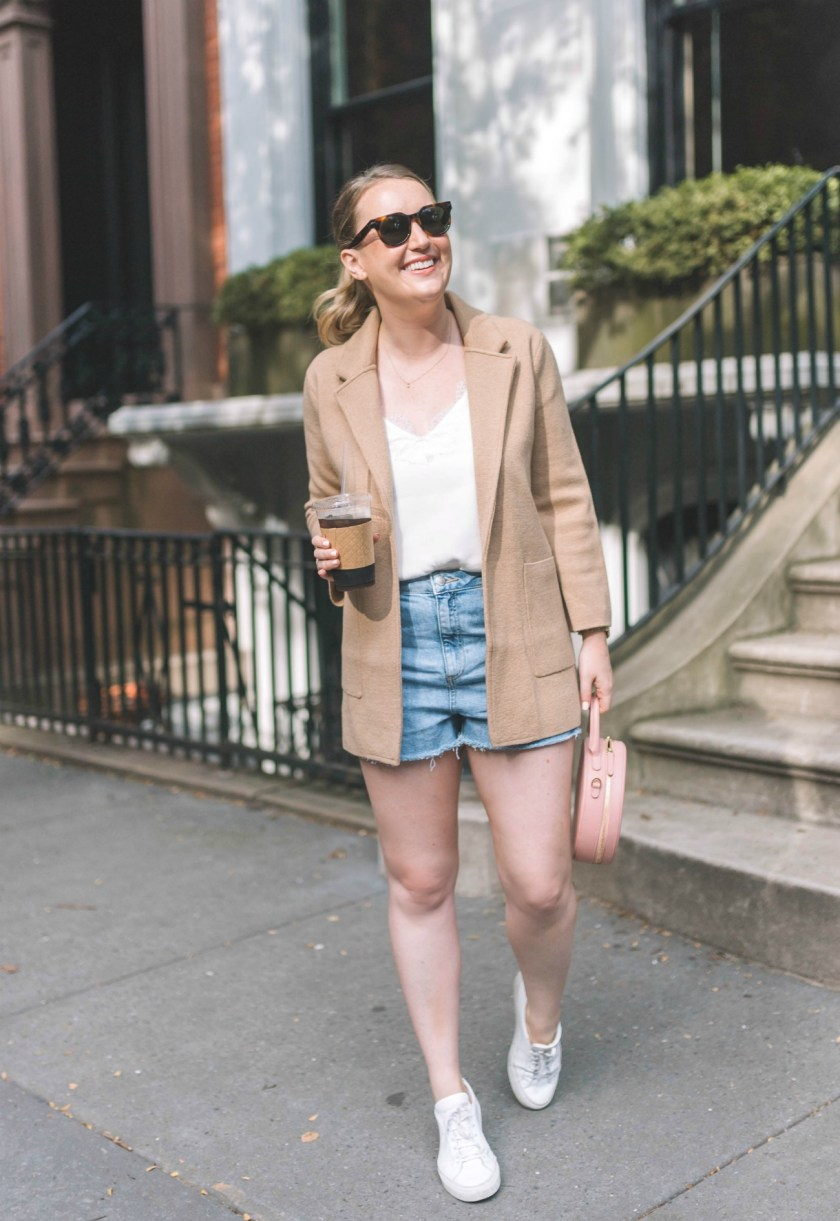 J.Crew Sweater Blazer on Meghan Donovan of wit & whimsy