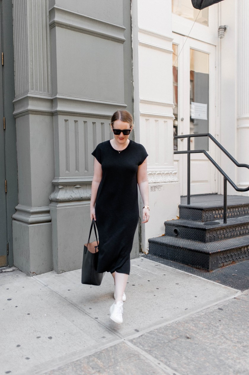 Easy T-Shirt Dress Styled by Meghan Donovan of wit & whimsy