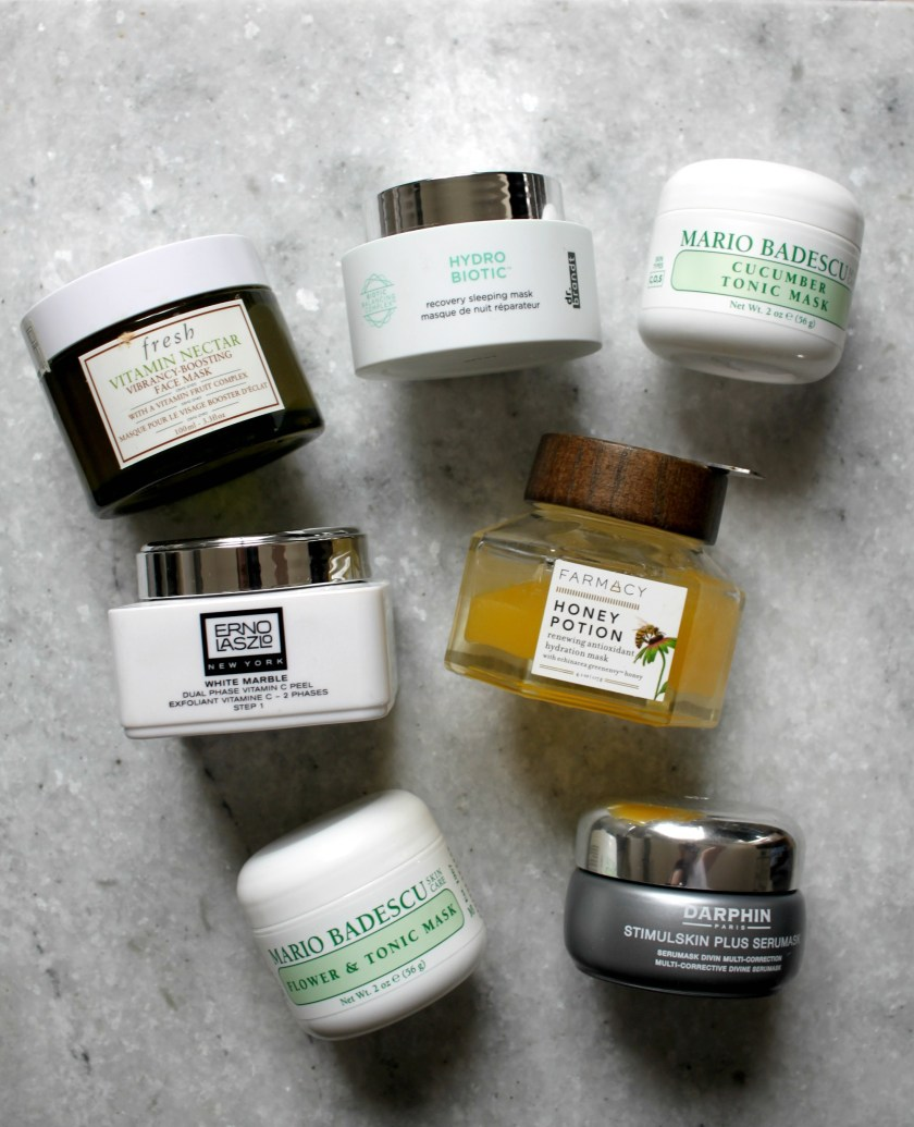wit & whimsy's favorite face masks