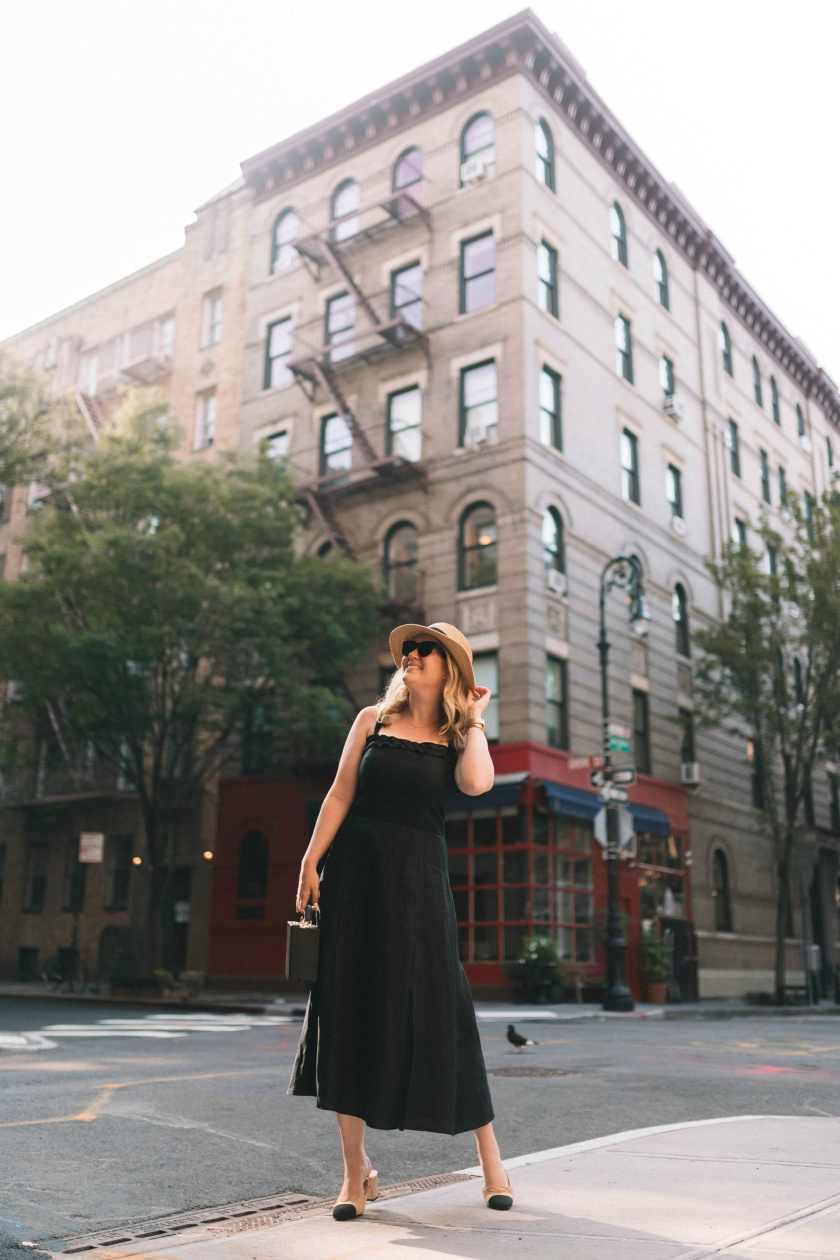Linen Dress on Meghan Donovan of wit & whimsy