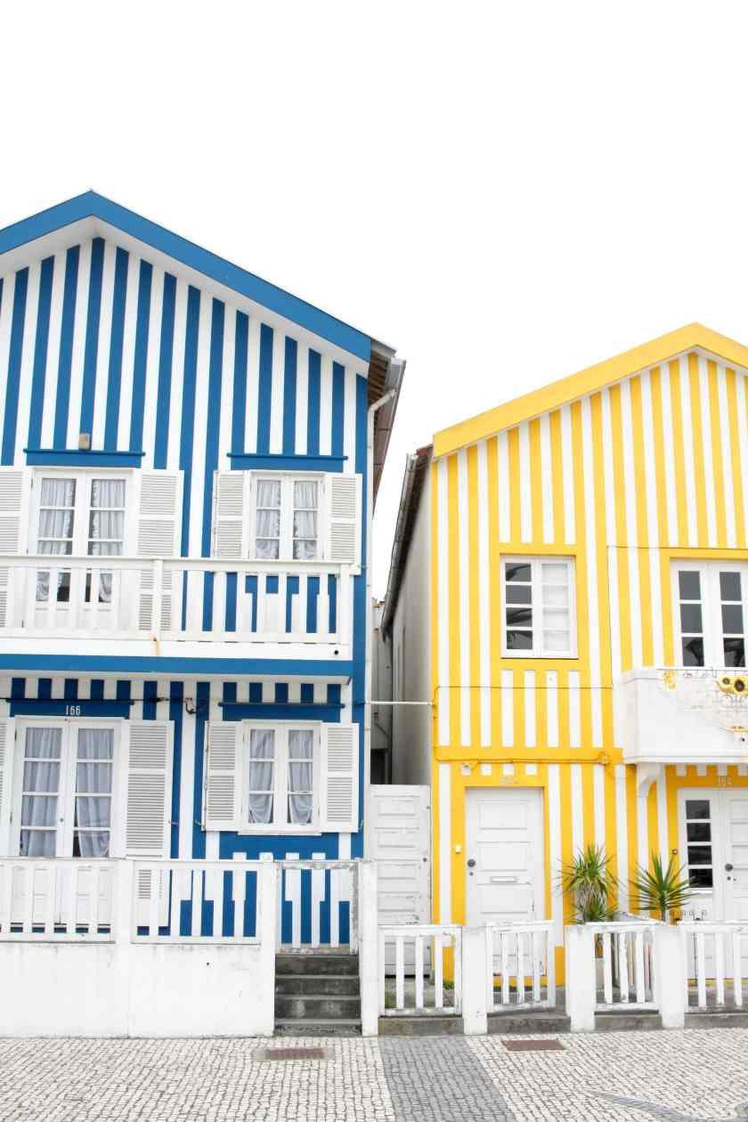 Costa Nova Day Trip - Portugal I wit & whimsy
