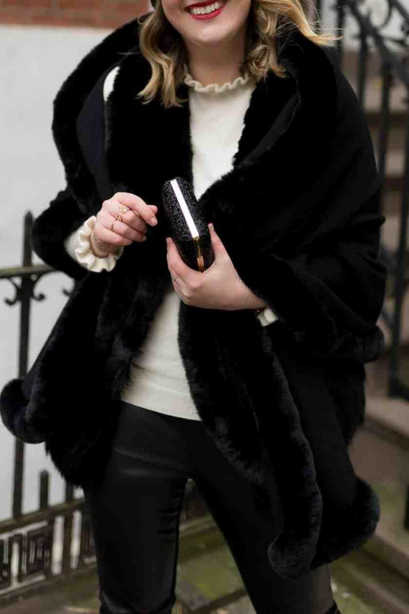 Faux Fur Wrap - J.McLaughlin