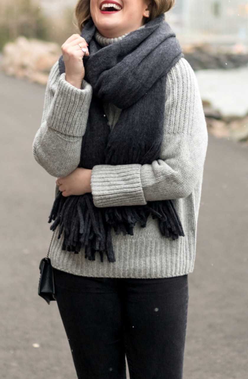 Gray Neutral Outfit I wit & whimsy