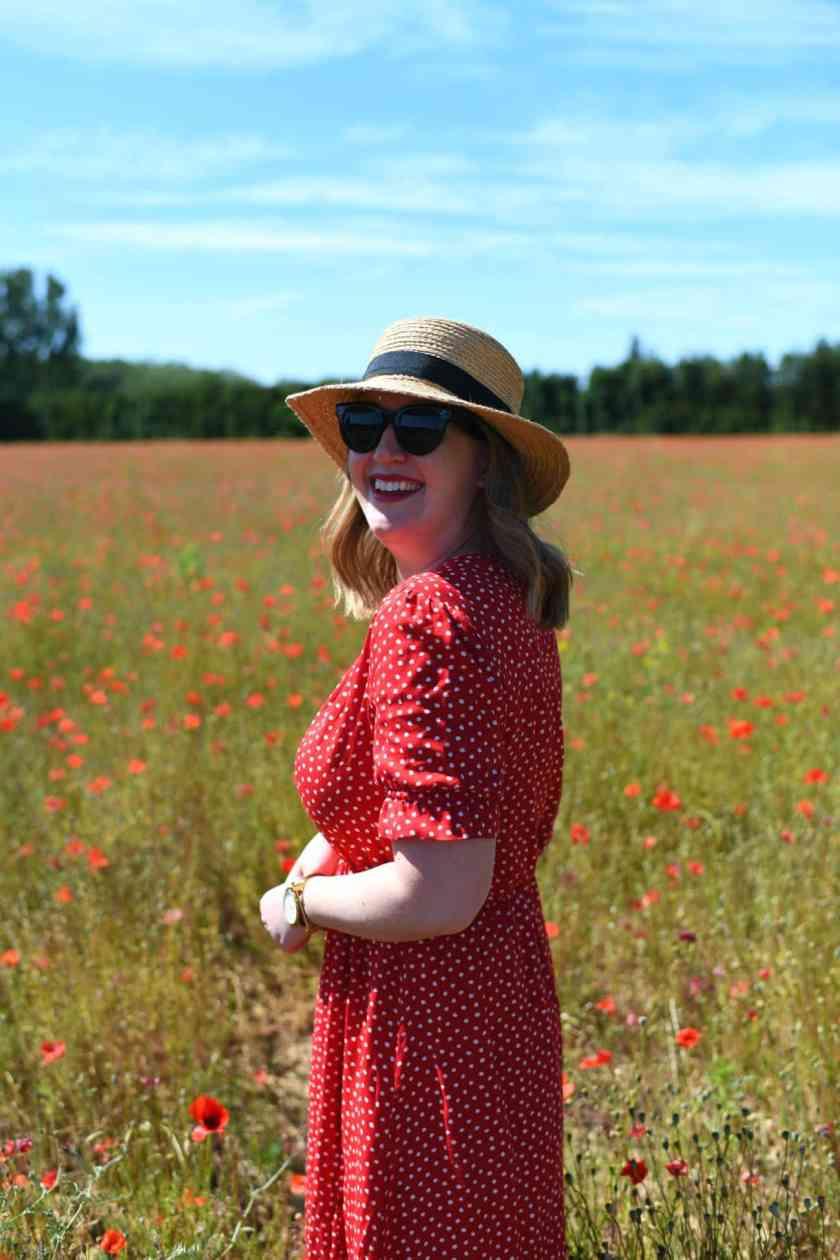 Provence Poppy Fields I wit & whimsy