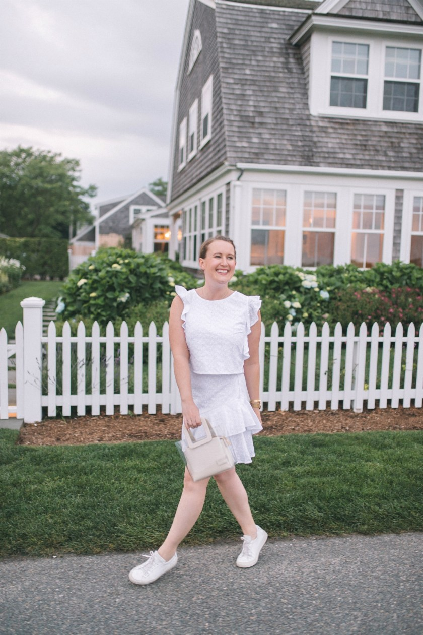 Two Piece Eyelet Set on Nantucket I wit & whimsy