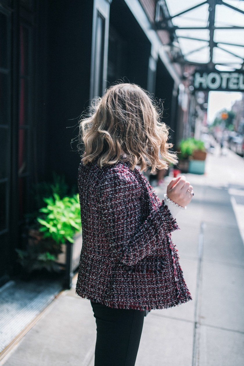 Ann Taylor Tweed Jacket I wit & whimsy