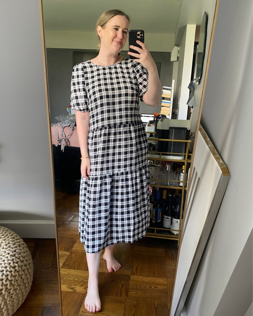 H&M Plaid Dress