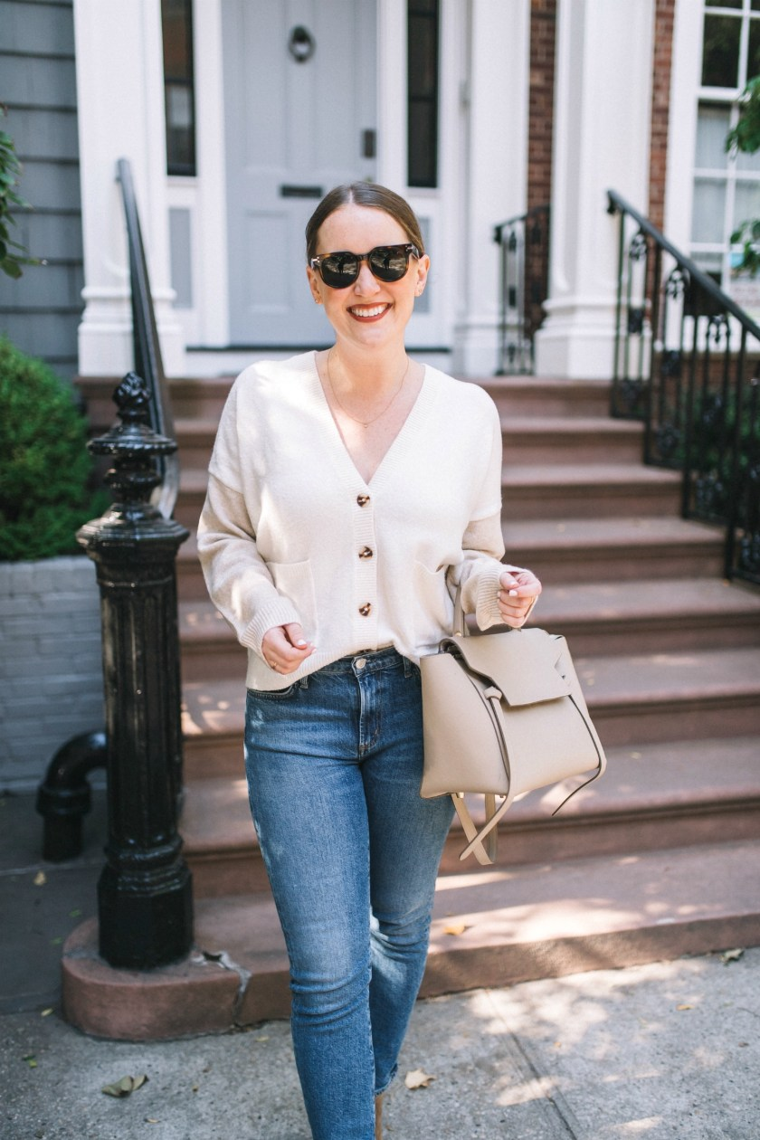 Madewell Colorblock Cardigan I wit & whimsy