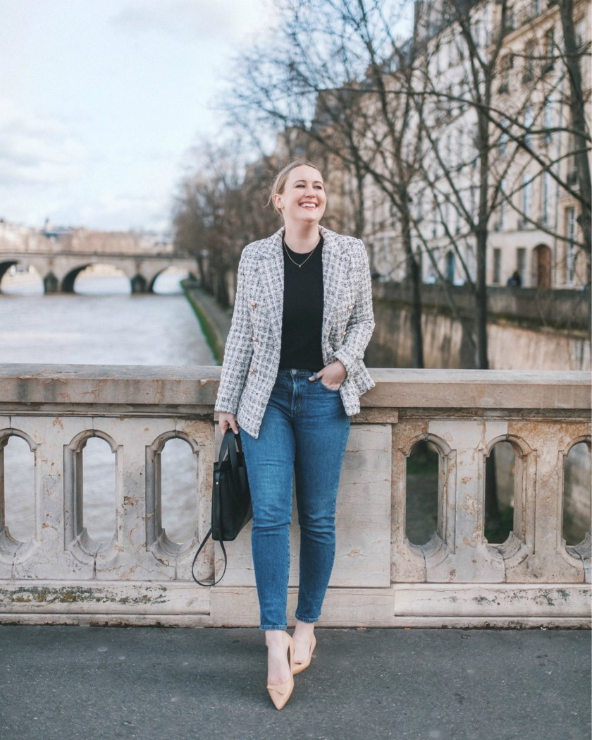 Parisian Inspired Outfit I wit & whimsy