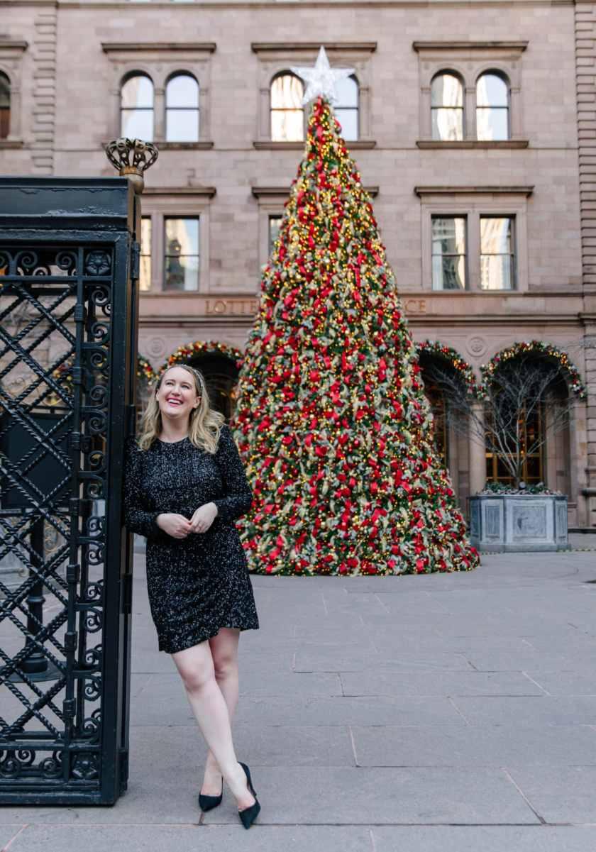 Palace Hotel Christmas Tree I wit & whimsy