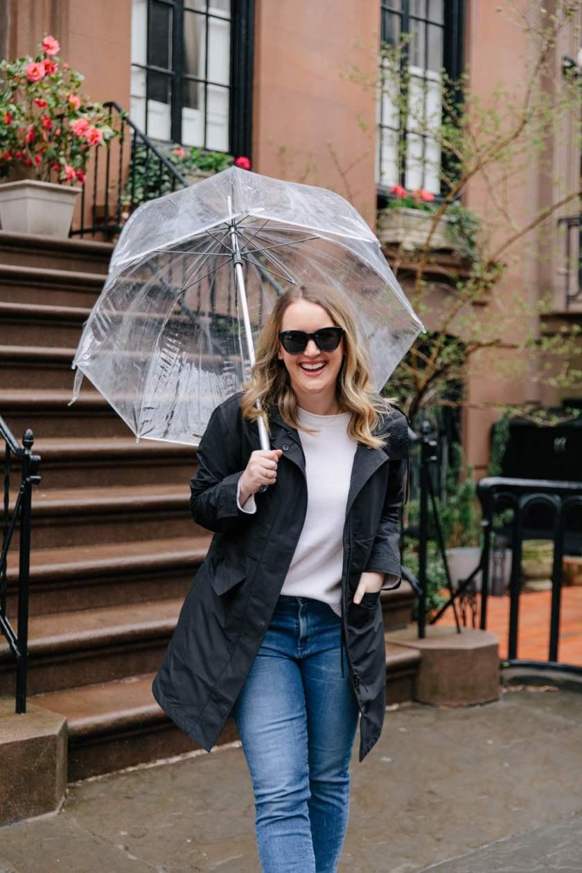 Everlane Rain Coat