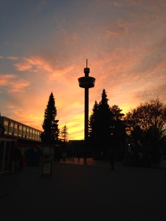 Sunset in LEGOLAND