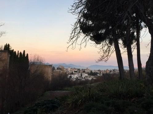 Sunrise over Granada