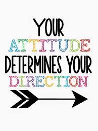 attitude determines your direction