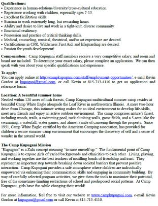 Camp Kapugani 1.1