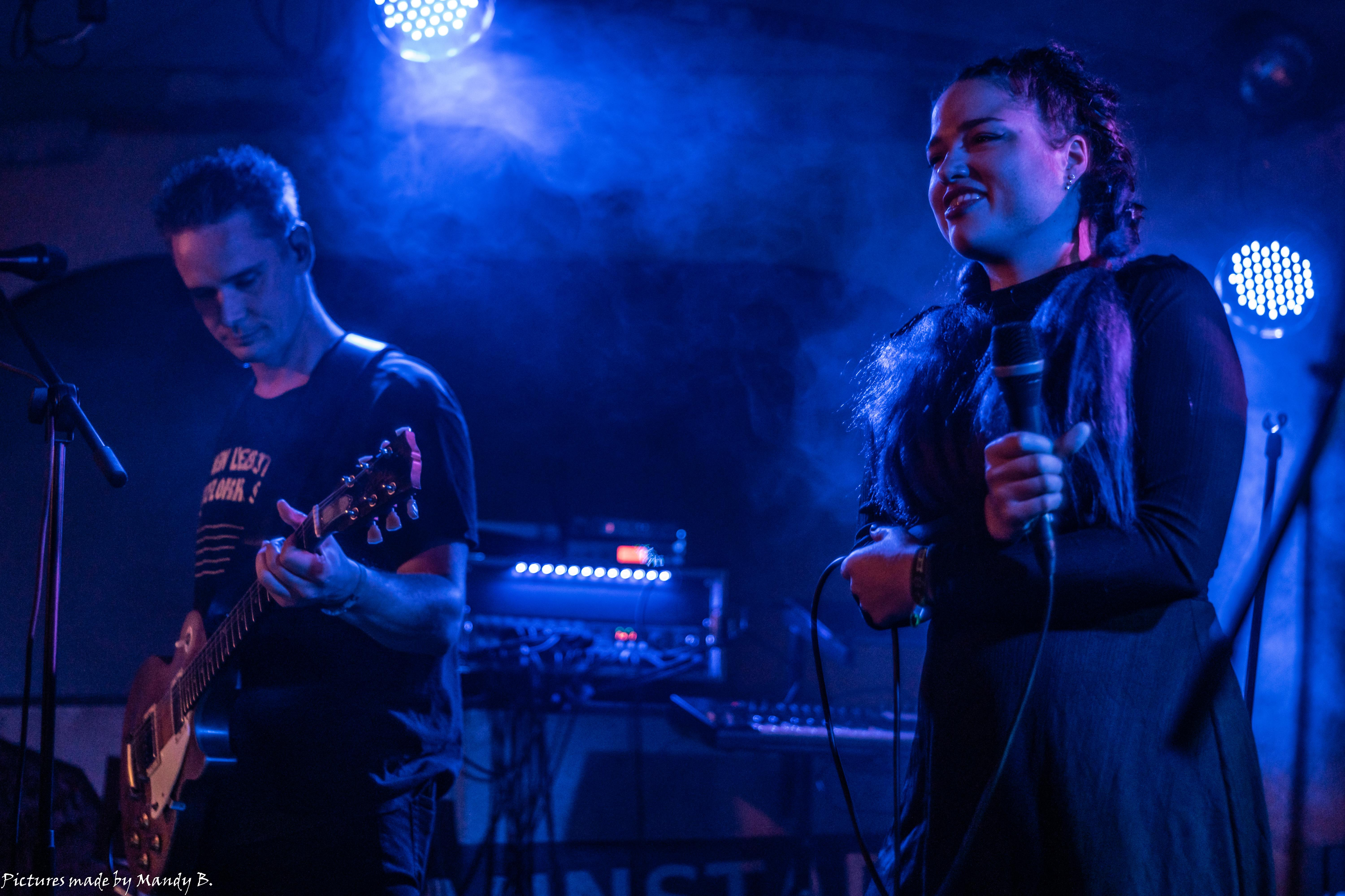 JoSe and San Dra of Waiting in Vain at Club Eule in Dresden on 20 September 2019