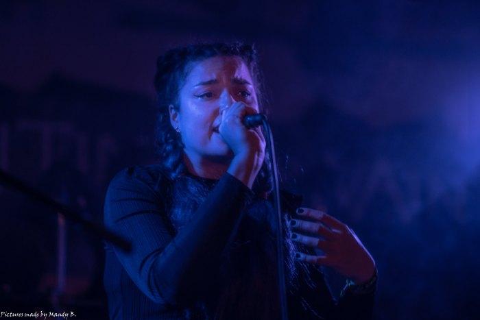 San Dra of Waiting in Vain at Club Eule in Dresden on 20 September 2019