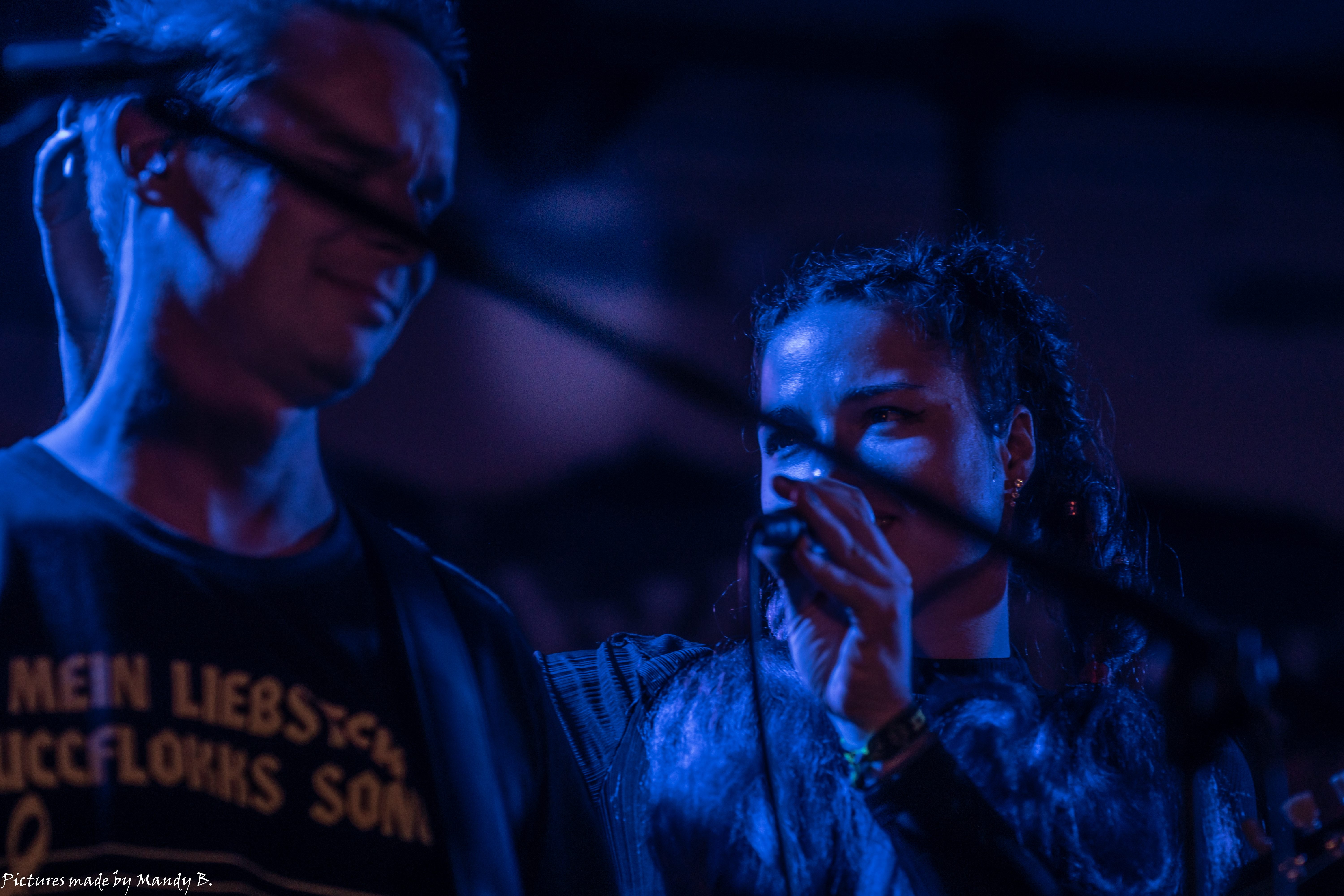 JoSe and SanDra of Waiting in Vain at Club Eule in Dresden on 20 September 2019