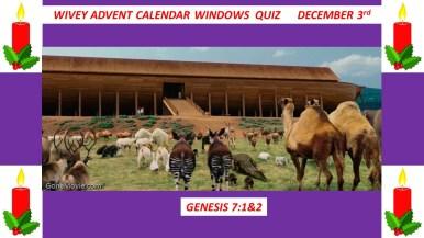 3rd December