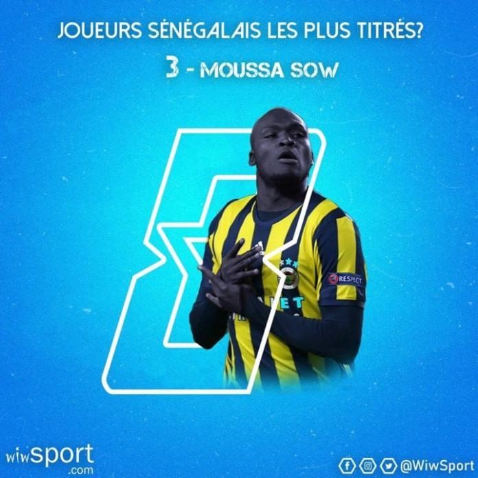 moussa-sow Les joueurs sénégalais les plus titrés : Mamadou Niang et Souleymane Diawara caracolent en tête Gaindés