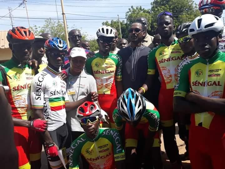 Aliou Cissé au départ à Kolda il y a 2 heuresdans Cyclisme – SportSénégal #Senegal FB IMG 1573401200904