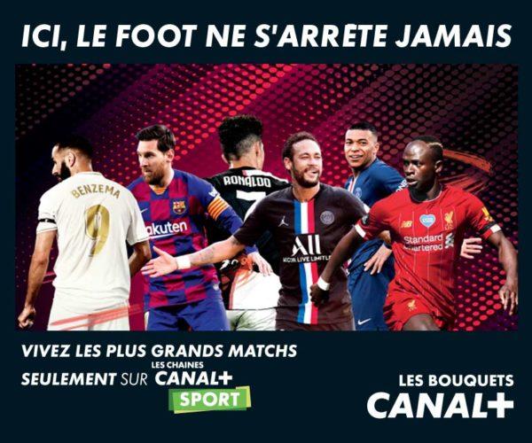 Canal+ Rentrée Foot 2020