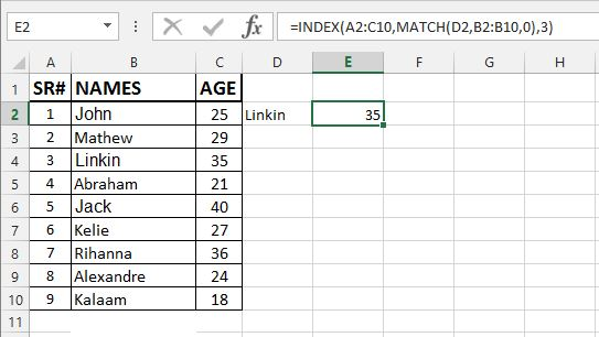 How To Use Index And Match Function Wizapps
