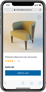 Wizar.co - Augmented Reality for your furniture store