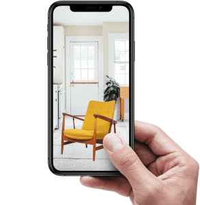 iPhone cover Augmented Reality for your furniture ecommerce