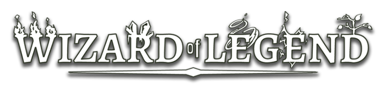 Wizard of Legend Drop Shadow Logo