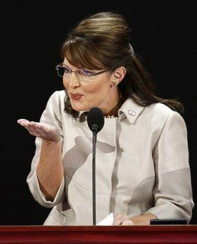 Image result for palin blowing kiss