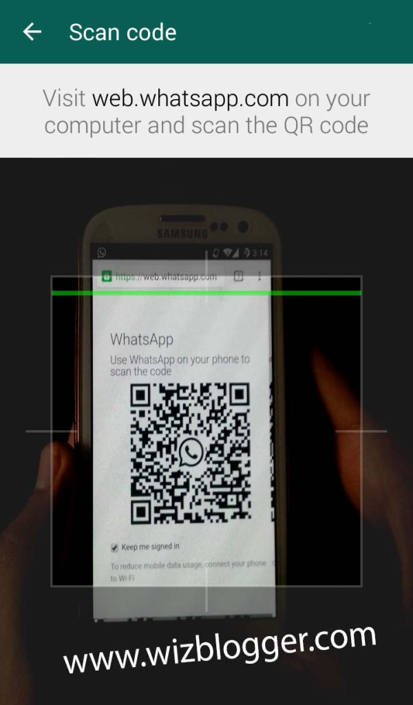 web whatsapp hack wizblogger 4.