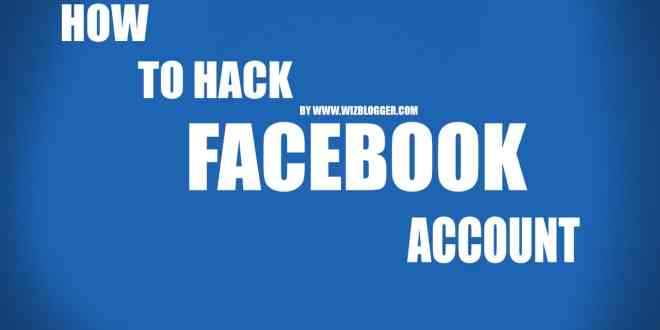 Hack Facebook Accounts With Facebook Phishing Script - Undetected