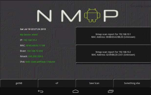 nmap for android