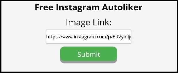 Instagram auto liker step 1