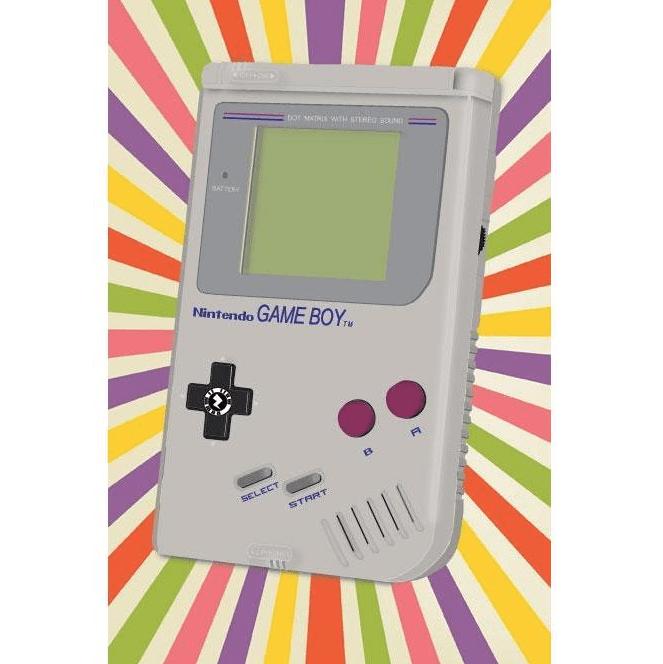 Zapz Birthday Card Retro Nintendo Game Boy Augmented Reality Greetings