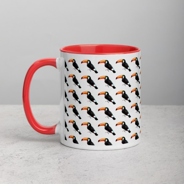 101 Toucans Red/White Mug