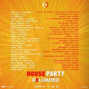 DJ Mankind - Houseparty ReloadAed Mixtape