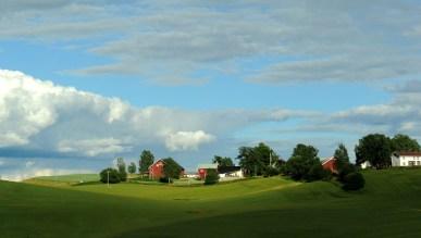 Skandynawia sielska - gdzieś między Oslo a Lillehammer