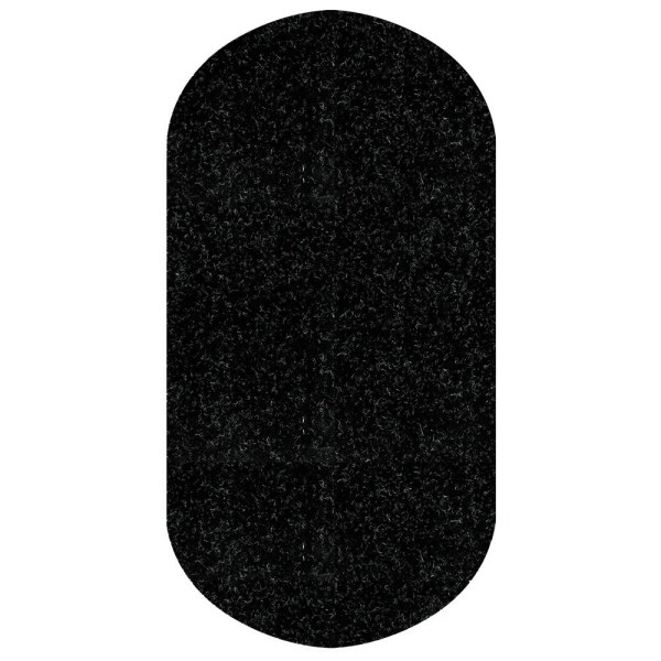 Black WizKid Antimicrobial Sink And Hand Dryer Mat from WizKid Products