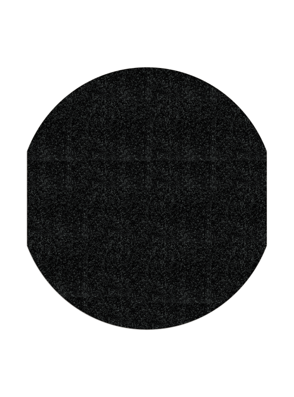Black WizKid Products Antimicrobial Spill Mat