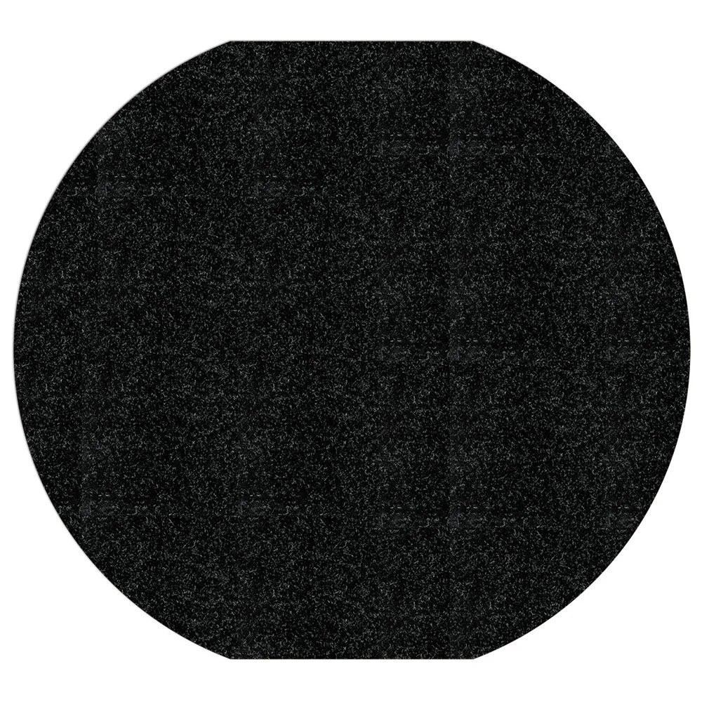 Black WizKid Antimicrobial Spill Mat from WizKid Products