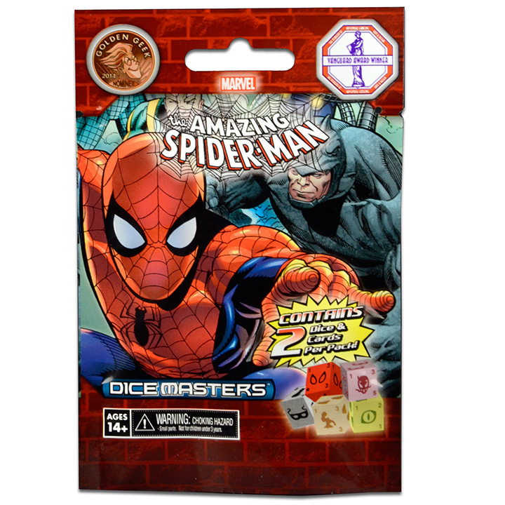 Marvel Dice Masters: The Amazing Spider-Man Foil Pack