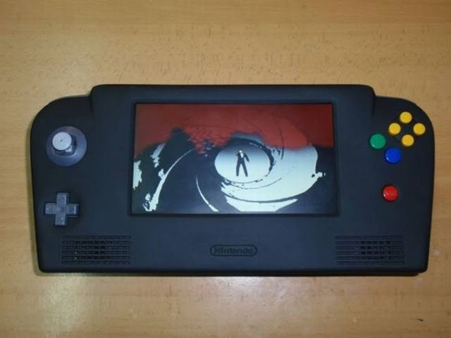 How this guy transform Nintendo 64 into A Handheld game console 58