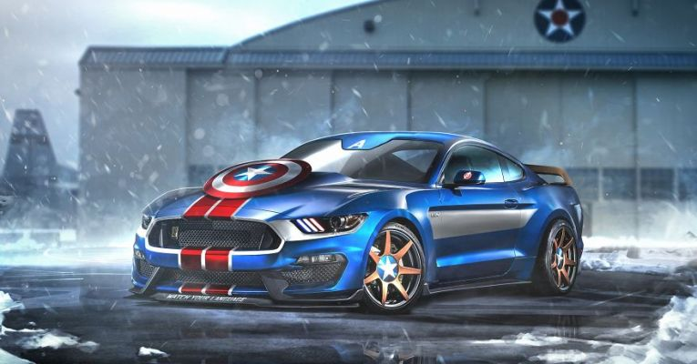 If Superheroes Designed their own Supercars