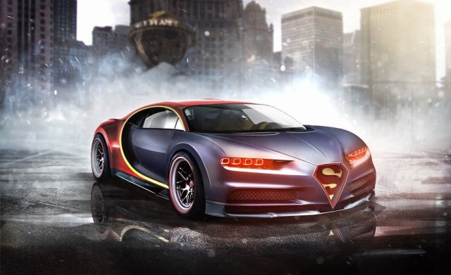 Superman – Bugatti Chiron