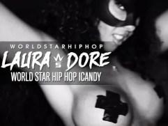 Laura Dore worldstar Hiphop web promo.thewizsdailydose