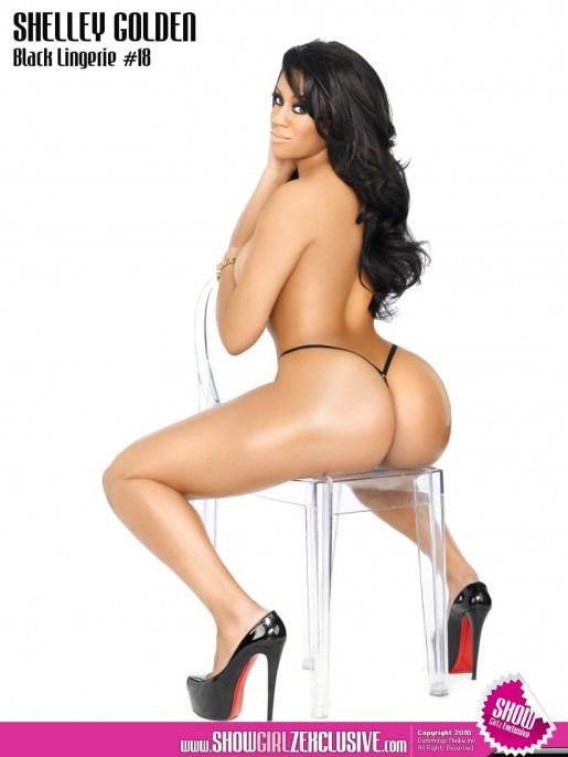 Shelley Golden in Black Lingerie8 Show Magazine.thewizsdailydose